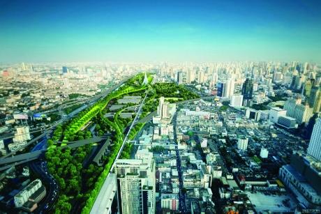 バンコクのマッカサン地区画像