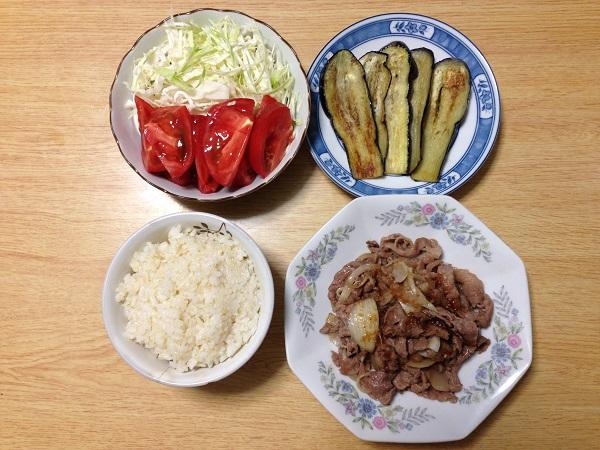 リア充ダイエット講師のバランスの取れた食生活1