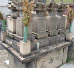 竹田出雲一族の墓(青蓮寺)