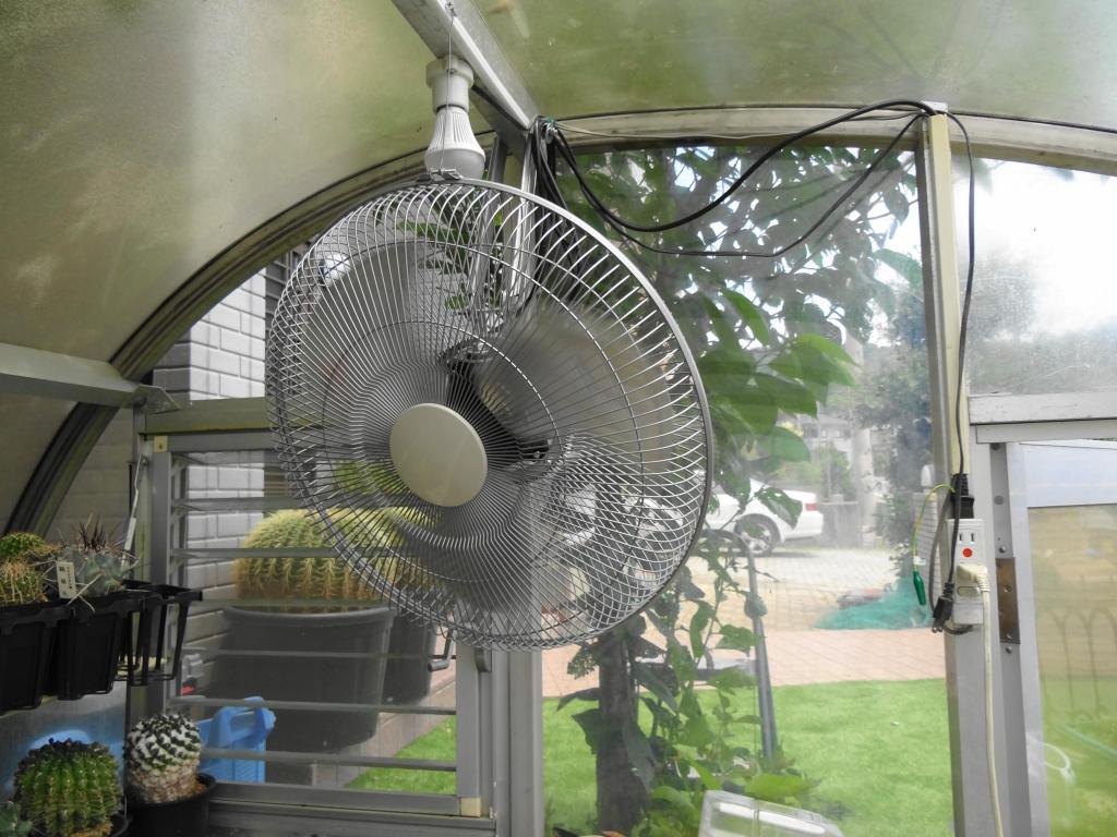 業務用扇風機設置