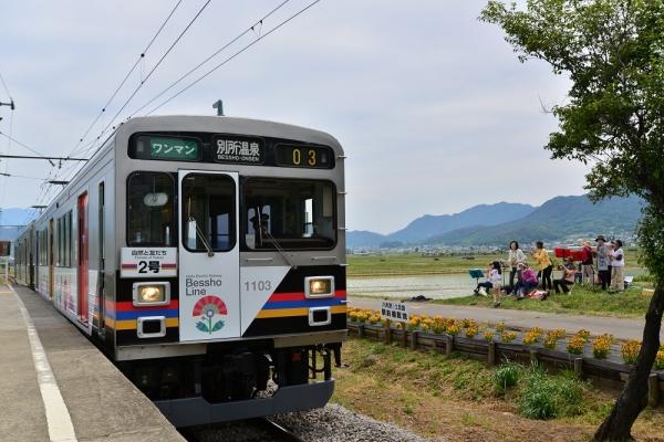 2015年5月23日 上田電鉄別所線 八木沢 1000系1003編成