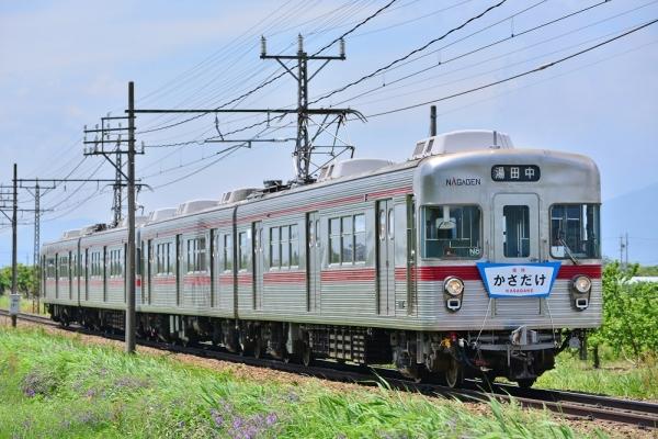 2015年5月31日 長野電鉄長野線 桜沢~延徳 3500系N8編成+N3編成