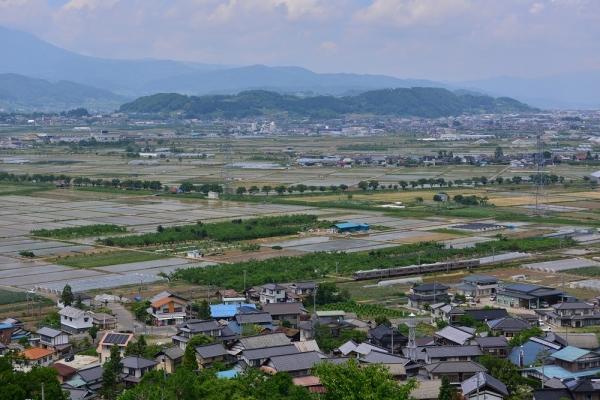 2015年5月31日 長野電鉄長野線 桜沢~都住 3500系N3編成+N8編成