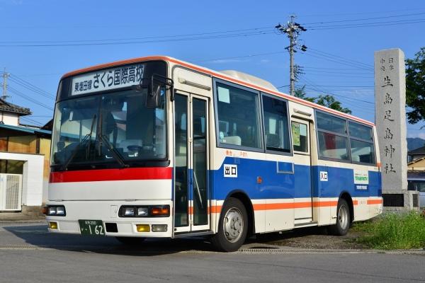 2015年6月12日 上田バス東塩田線 下之郷駅 F-011号車