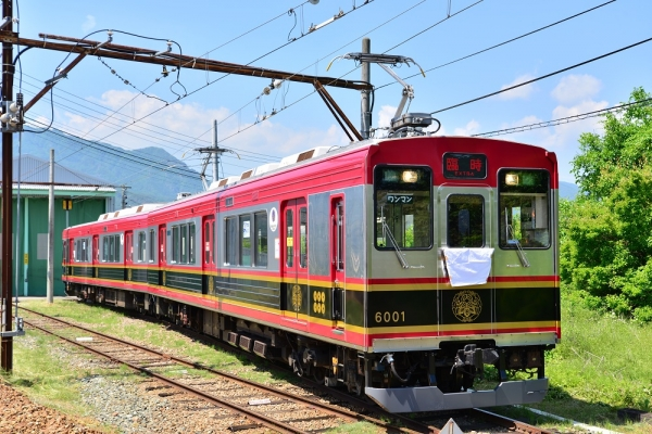 2015年6月13日 上田電鉄別所線 下之郷 6000系6001編成