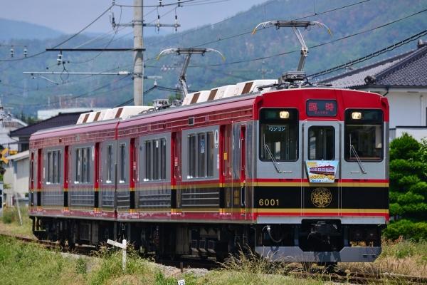 2015年6月13日 上田電鉄別所線 赤坂上~三好町 6000系6001編成