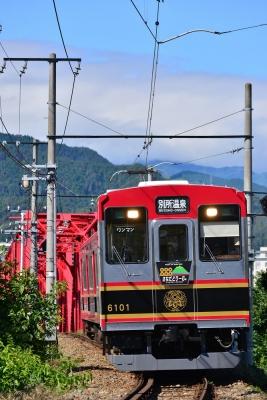 2015年6月28日 上田電鉄別所線 上田~城下 6000系6001編成