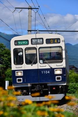 2015年6月28日 上田電鉄別所線 城下~三好町 1000系1004編成