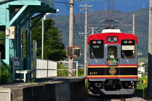 2015年7月20日 上田電鉄別所線 八木沢 6000系6001編成