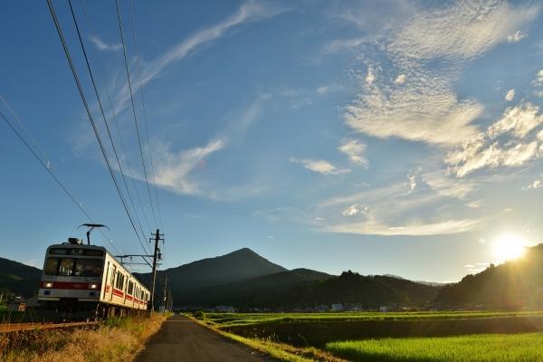 2015年7月20日 上田電鉄別所線 別所温泉~八木沢 1000系1001編成