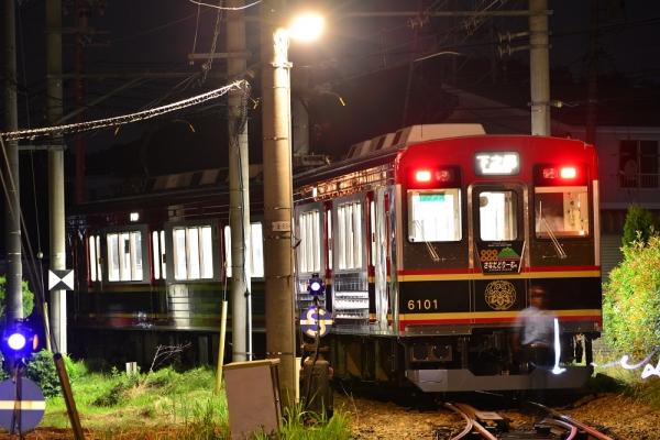 2015年7月20日 上田電鉄別所線 下之郷 6000系6001編成