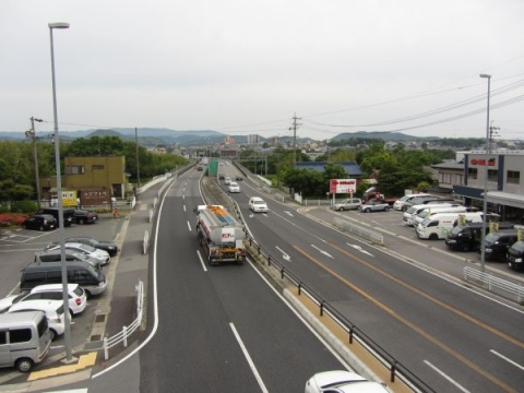 国道1号・大平橋