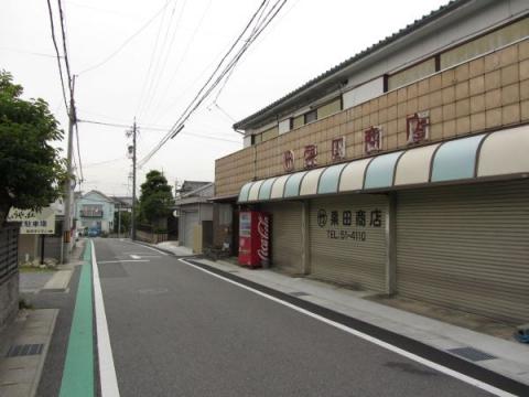 旧東海道 岡崎市美合町