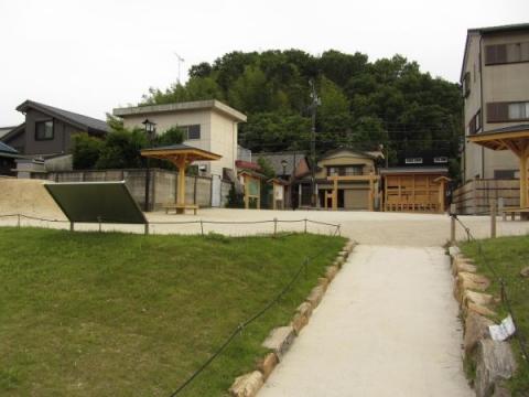 藤川宿本陣跡