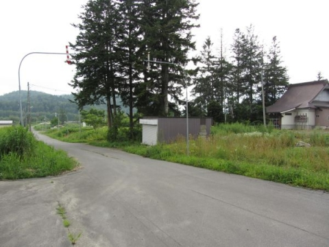 浄念寺と旧国道
