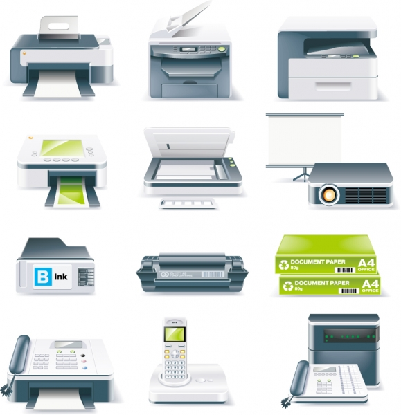 オフィス機器 Printers Fax Projectors Office Equipment