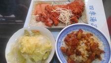 魯白菜と紅糟肉