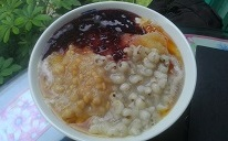 薏仁+紫米+大燕麥豆花