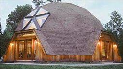 半地下式の未来ハウス
