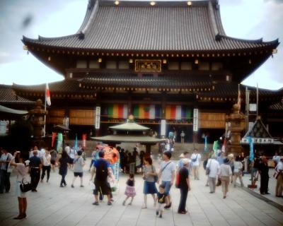 川崎大師平間寺風鈴市2015 大本堂:Entry