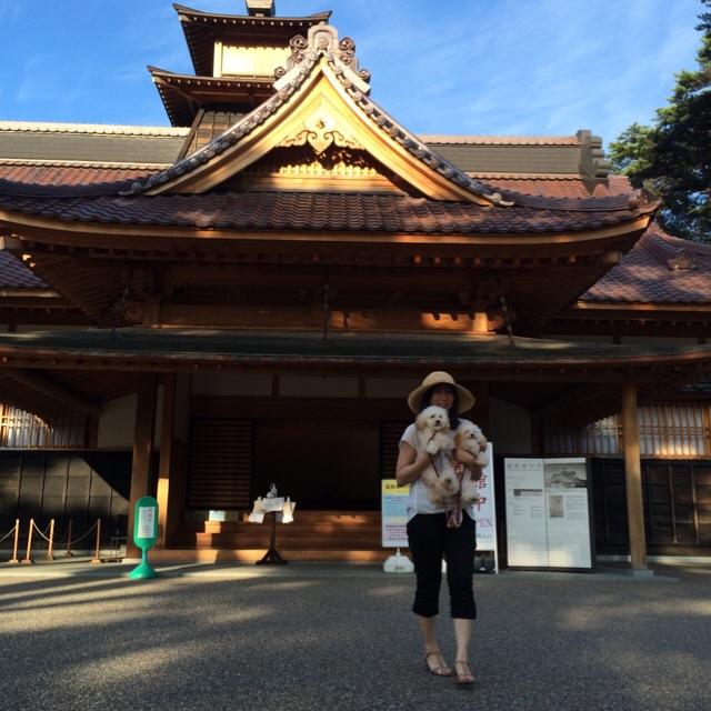 復元建築された函館奉行所
