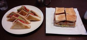 お昼ご飯 サンド!