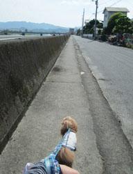 日光浴な散歩7