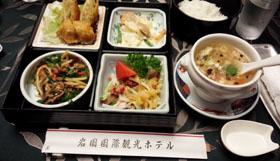 四川飯店 ランチ1