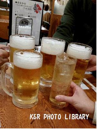 2月22日ビールと梅酒