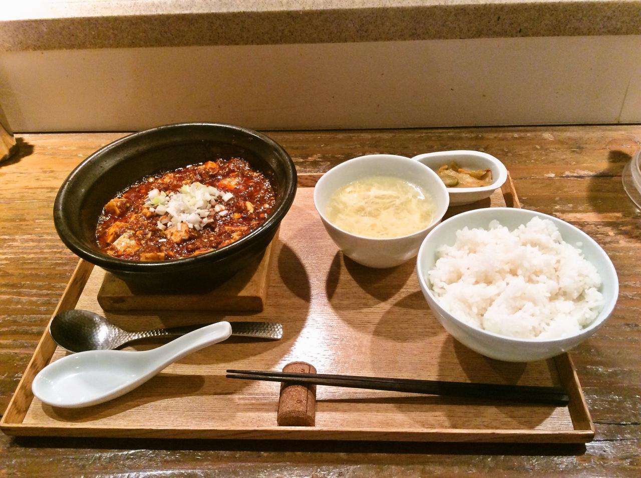 東京麻婆食堂(麻婆豆腐定食)