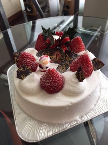 2014:12:24 クリスマスケーキ