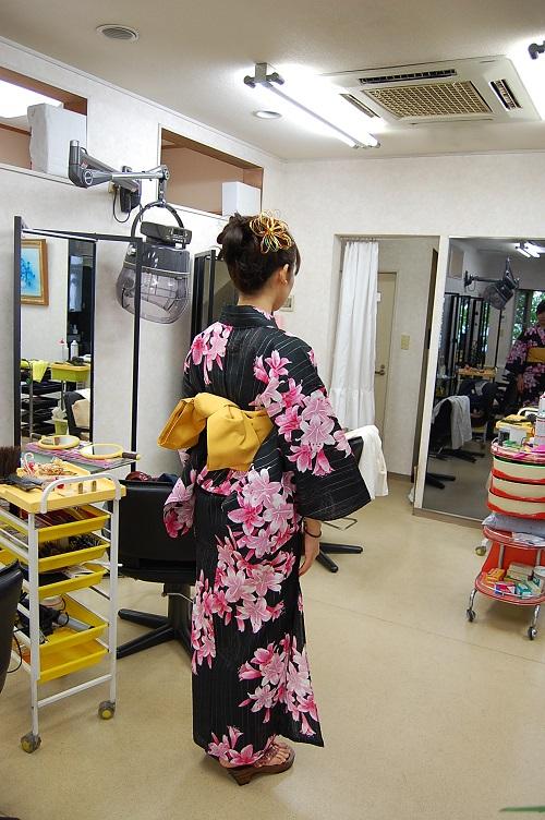 花火祭り 浴衣05