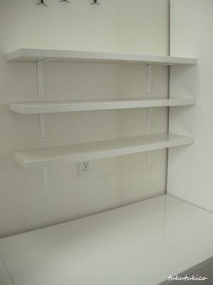 キッチンの棚3