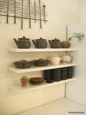 キッチンの棚4