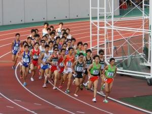 1組レース光景