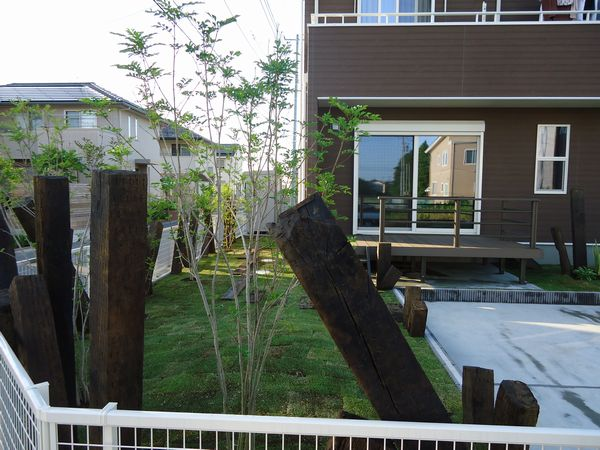 お庭の完成2