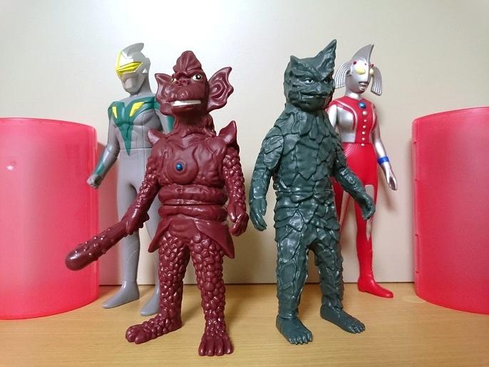 ガシャポン ウルトラヒーロー500ウルトラ怪獣500 第1弾8