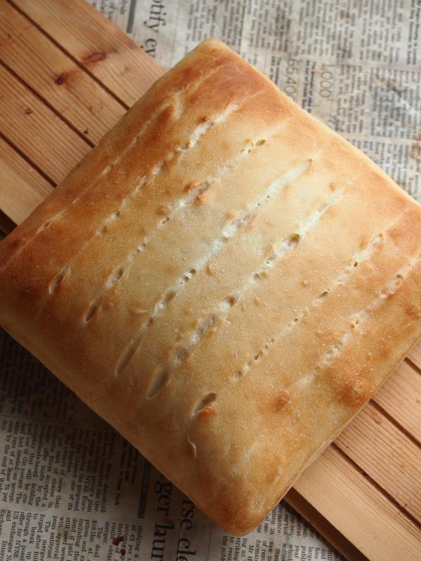 酵母の牛乳パン2