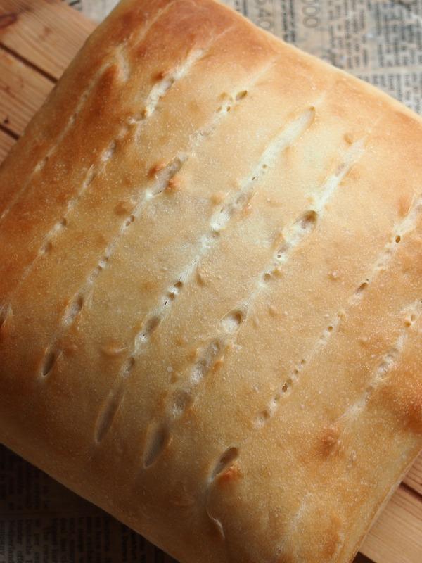 酵母の牛乳パン3