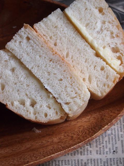 酵母の牛乳パン7