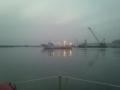 松川浦の漁船