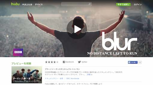 Blur「NO DISTANCE LEFT TO RUN」
