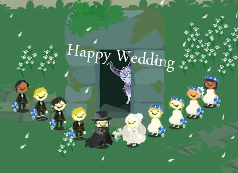 happy wedding 病み
