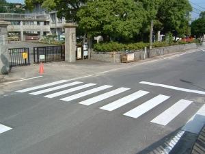 横断歩道③