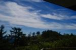 高峰山から見た山々
