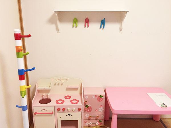 IKEAフック子ども部屋