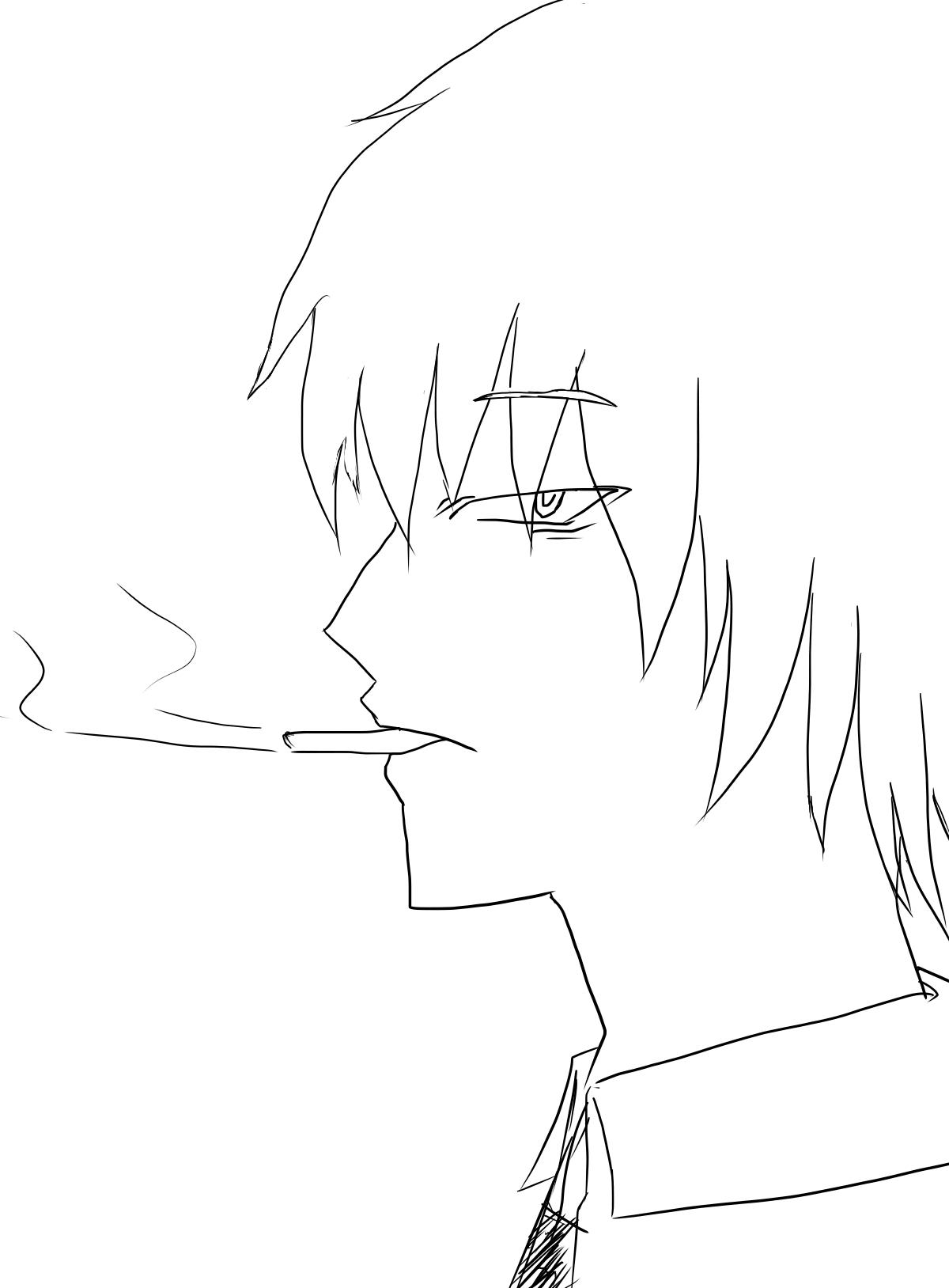 タバコ 男 リメイク