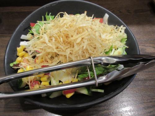 ふじ笑サラダ(ハーフサイズ)