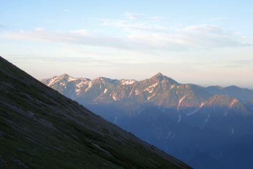 剣立山連峰