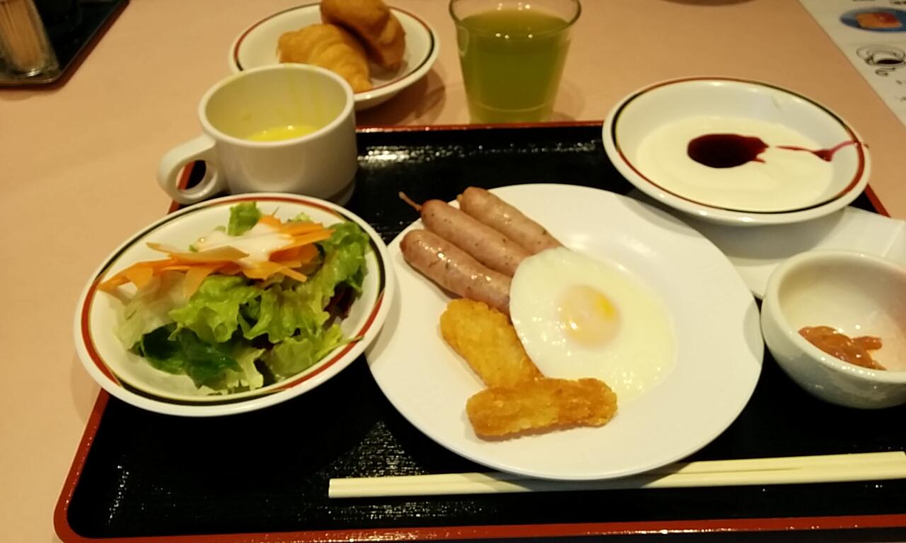 2015箱根リカーヴ朝食